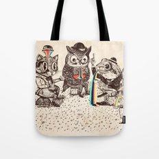 Strange Animals Tote Bag