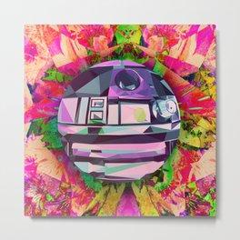 R2 DOT (Floral Edition) Metal Print