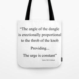 The Angle Tote Bag