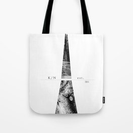 Kuro Noir tower Tote Bag