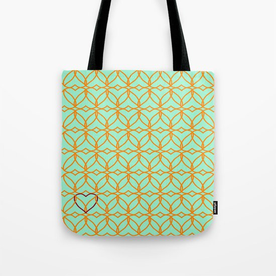 Intertwined Love Tote Bag