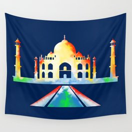 Taj Mahal Wall Tapestry