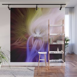 Psychedelic Fibers Wall Mural