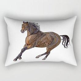 Grecian Horse Rectangular Pillow