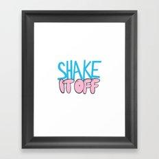 Shake It Off Framed Art Print