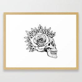 Skull tattoo Framed Art Print