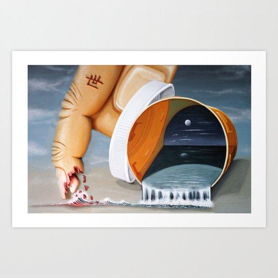 """""""Pill Bottle"""" Art Print"""