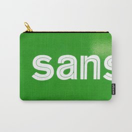 Triptych - Super Sans Ole - North Carry-All Pouch