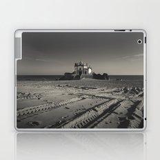 Beach Chapel (B&W) Laptop & iPad Skin