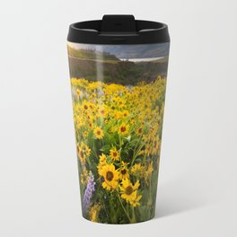 Oregon Wildflowers Travel Mug