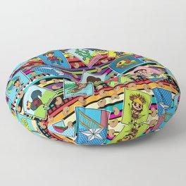Loteria Night Floor Pillow