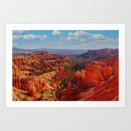 Bryce Canyon Fine Art Print Art Print