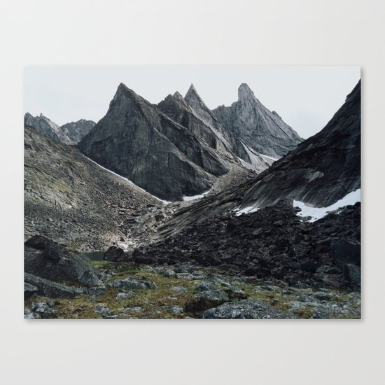 Arrigetch Canvas Print