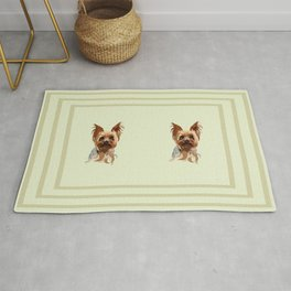 It's A Yorkie Rug