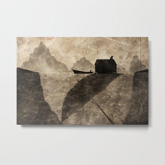 sombrilla Metal Print