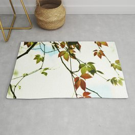 Creeper in autumn colors Rug