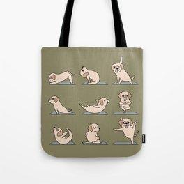 Labrador Retriever Yoga Tote Bag