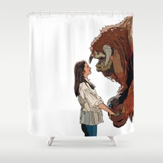 Inside the labyrinth, Ludo Shower Curtain