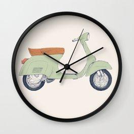 Italian Moto Wall Clock