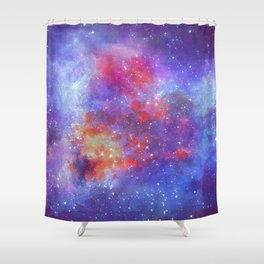Heart of Universe Shower Curtain
