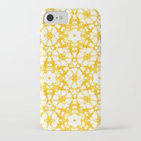 batik iPhone & iPod Cases featuring batik floral by clemm