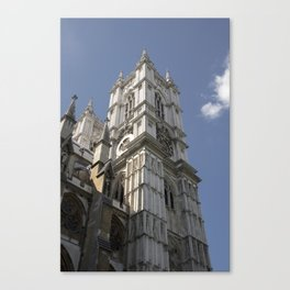 Westminister Abbey Tower Canvas Print