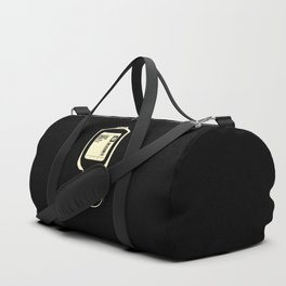 Coffee Transfusion - Black Duffle Bag