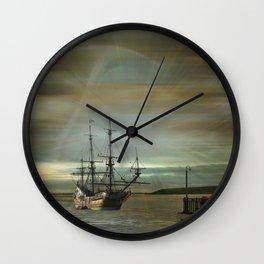 Dream Traveller Wall Clock