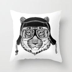 Lion Helmet Throw Pillow