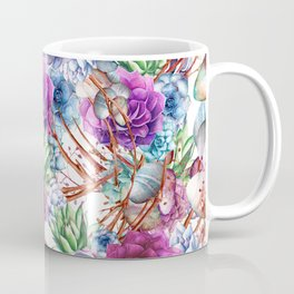 Simply Succulents Coffee Mug