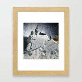 Monster Mud Framed Art Print