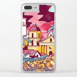Santa Barbara Clear iPhone Case