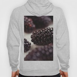 Blackberry Closeup Hoody