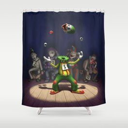 A Hard Act to Follow Shower Curtain