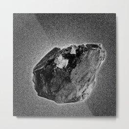 Meteorite Metal Print