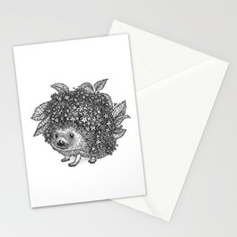 Elderberry Hedgehog Stationery Cards
