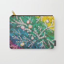 Leaves on the World Tree: Brahui Juniper Carry-All Pouch