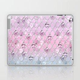 Mermaid Princess Glitter Scales #1 #shiny #pastel #decor #art #society6 Laptop & iPad Skin
