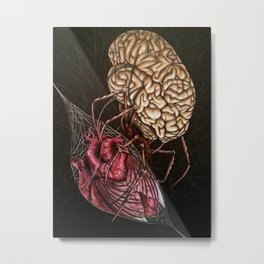 Toxic Thoughts Metal Print
