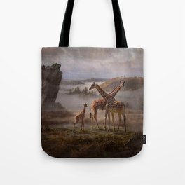 The Edge of the Earth Tote Bag