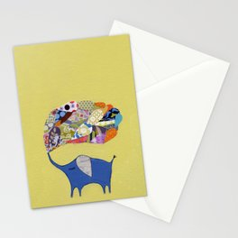 Kathryn's Lucky Yellow Elephant Stationery Cards