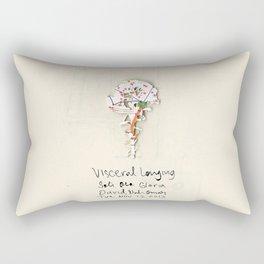 Visceral Longing  Rectangular Pillow