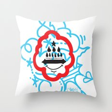 GIOSE X STREETART.COM Throw Pillow