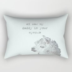 Daddy Lama Rectangular Pillow