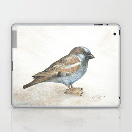 His eye is on the sparrow Laptop & iPad Skin