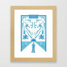 R1R2L1R2 Framed Art Print