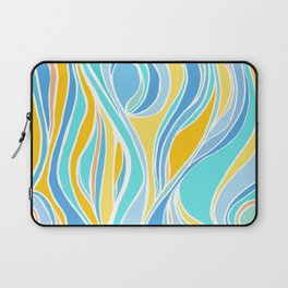 Beach Day Abstract Laptop Sleeve