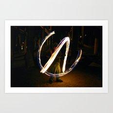 Fire Poi. Art Print
