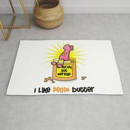 I Like Penis Butter Rug