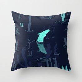 Artax Throw Pillow